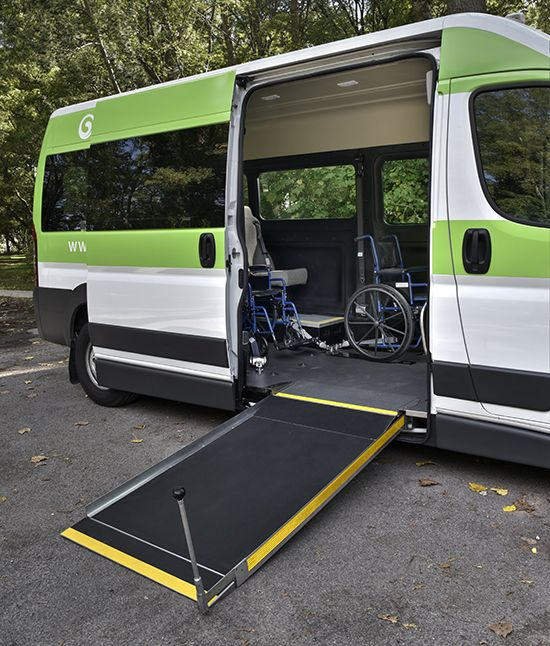 The lowered floor conversion for RAM ProMaster is a simple, yet flexible solution ideal for retirement homes, long term care centres and municipal needs.