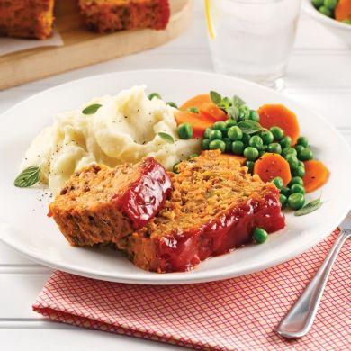 Pain de viande aux lentilles - Recettes - Cuisine et nutrition - Pratico Pratique