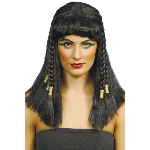 Cleopatra Fancy Dress Wig Womens 42081: Cosmetics4uOnline.co.uk: Fancy Dress > Fancy Dress Wigs > Womens Wigs - Cleopatra Fancy Dress Wig Womens 42081 - This braided wig is perfect for Cleopatra Fancy Dress parties and will compliment and Cleopatra Fancy Dress Costume