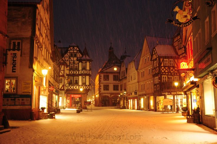 With Love from Lohr: Enveloped in white..
