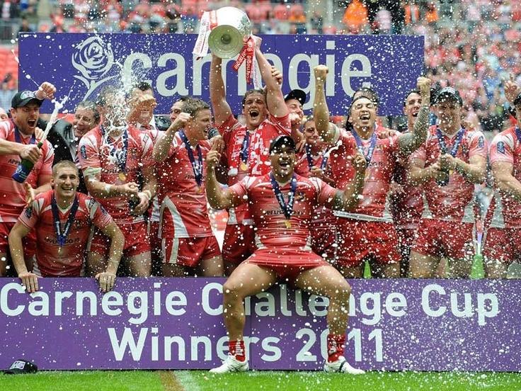 Wigan Warriors - Challenge Cup Winners 2011