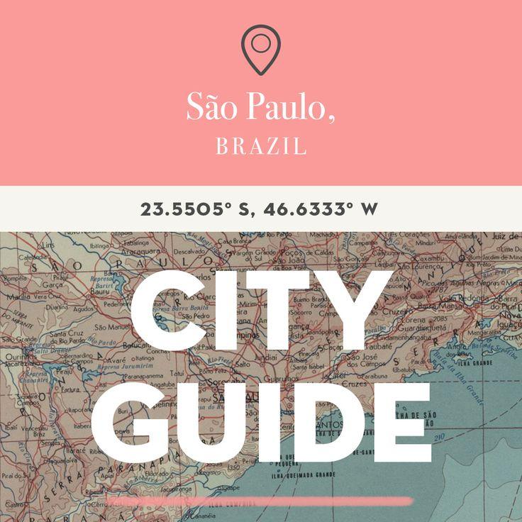 São Paulo, Brazil City Guide | Design*Sponge | Bloglovin'