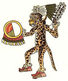 Jaguar warrior in the Aztec culture  Among the Andean cultures, a jaguar cult disseminated by the early Chavín culture became accepted over most of what is today Peru by 900 BC. The later Moche culture of northern Peru used the jaguar as a symbol of power in many of their ceramics.