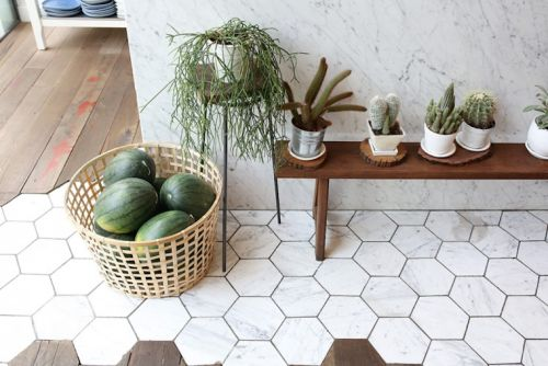 M s de 25 ideas incre bles sobre baldosas hexagonales en pinterest - Baldosas hexagonales ...