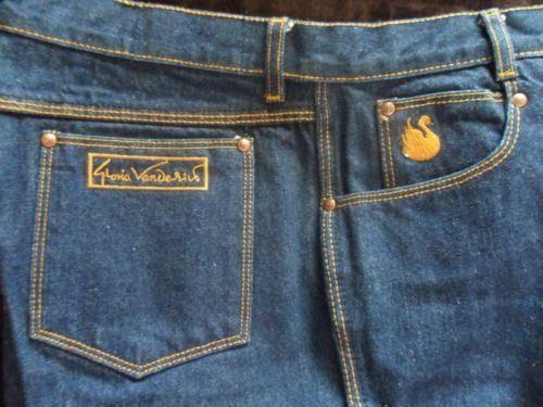 This Vanderbilt vintage jeans