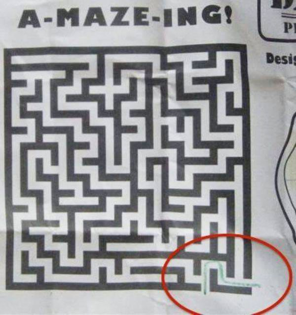 amazing Maze ~ Funny You Had One Job Fails
