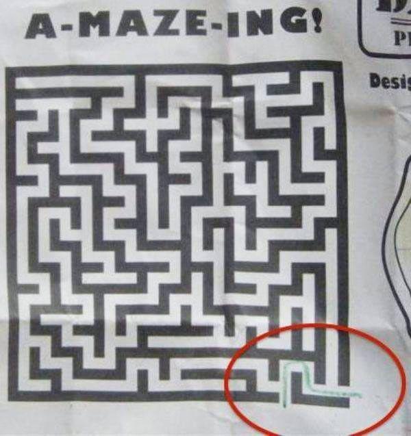 amazing Maze ~ Funny You Had One Job Fails