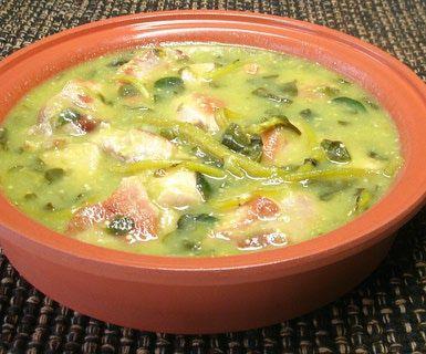 Comfort food mexicano: puerco en salsa verde con verdolagas: Reconfortante, sabrosas y nutritivas son las verdolagas, y más en salsa verde con carne de cerdo.