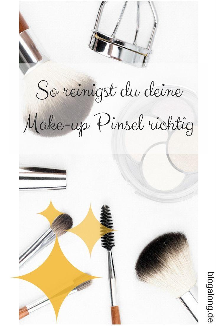 So reinigst du deine Make-up Pinsel in wenigen Minuten #makeup #beauty #tricks