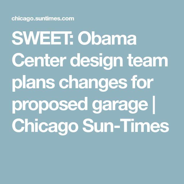 SWEET: Obama Center design team plans changes for proposed garage | Chicago Sun-Times