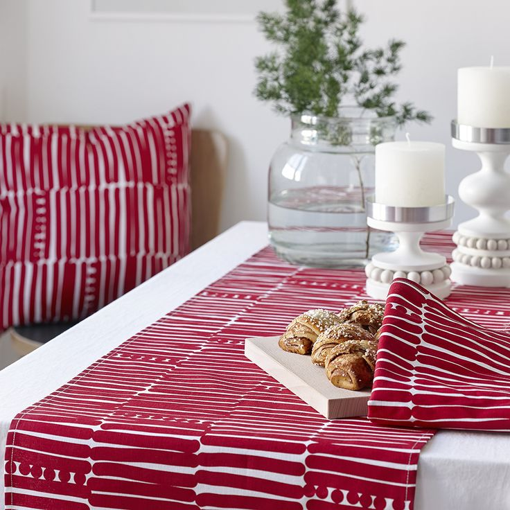 Aarikka - Cooking & Table setting : Palko tablecloth