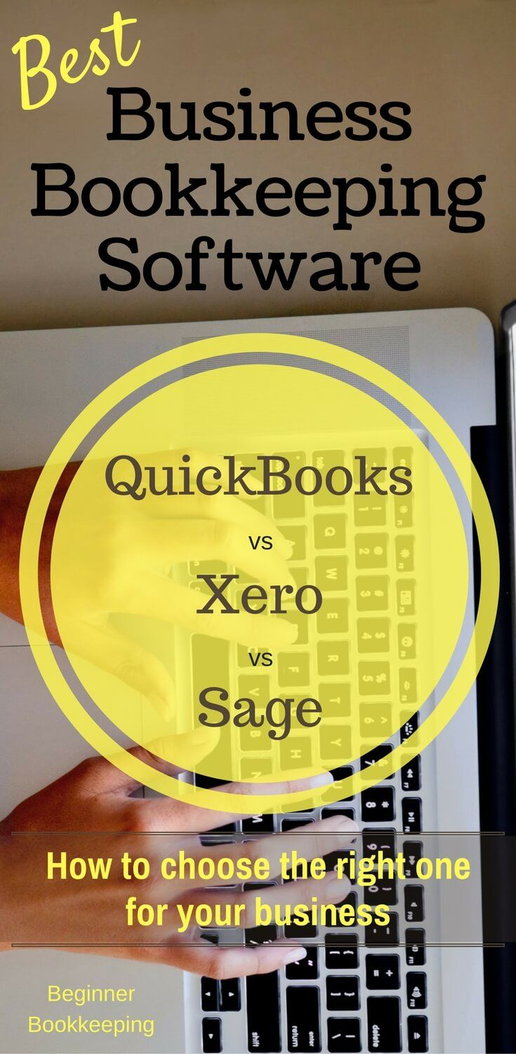 Best business bookkeeping software. Comparing Quickbooks vs Xero vs Sage. Helping you choose the right accounting package for your small business.