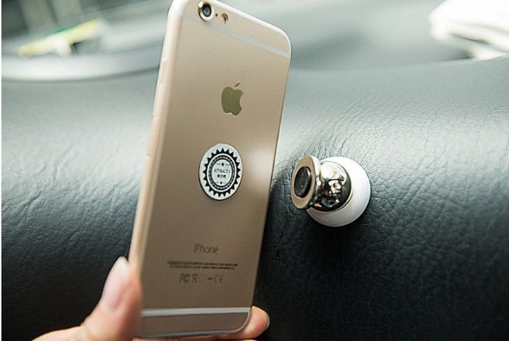 Universal Magnetic Car Holder for iPhone, Samsung & GPS