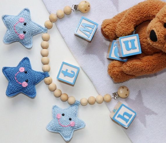 Crochet Baby Stroller Toy/ Pram Toy/ Pram Chain/ by LilCrochetLove