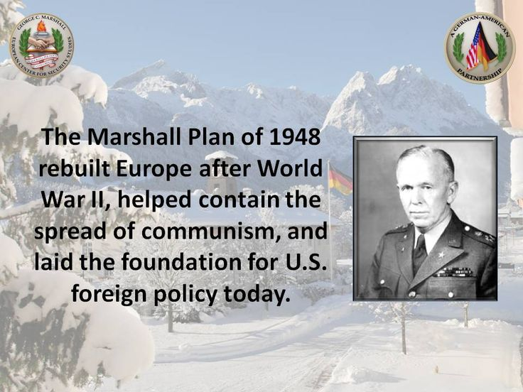Image result for the signing of the marshall plan in 1948
