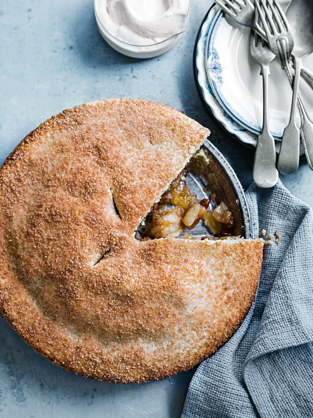 classic apple pie from donna hay