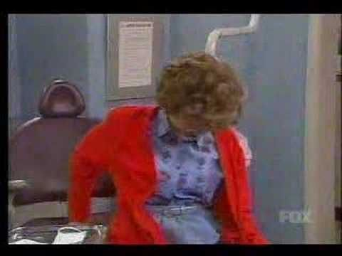 """Mad TV... Lorraine goes to Dentist """"Where are the stirrups?"""" lol!"""