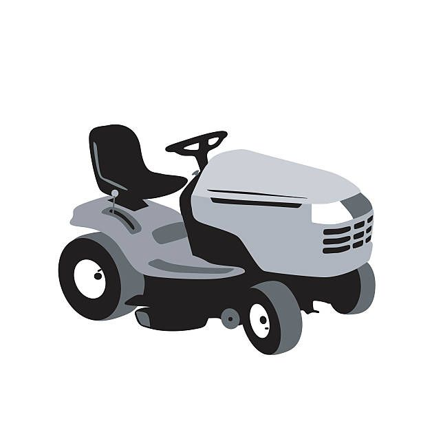 Royalty Free Riding Lawn Mower Clip Art Lawn Mower Riding Lawn Mowers Mower