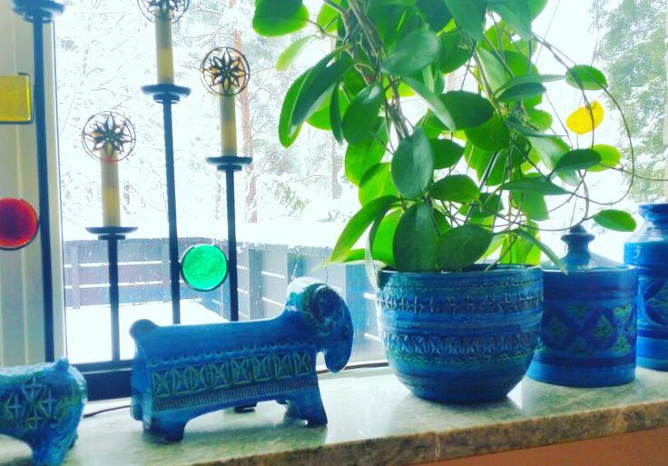 Bitossi ceramic- Rimini Blue
