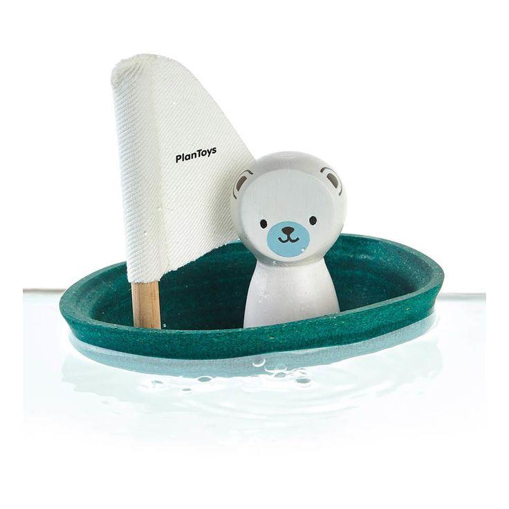 schiff eisb r wasserspielzeug badespielzeug geschenke f r kinder geschenkidee. Black Bedroom Furniture Sets. Home Design Ideas