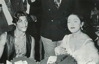 Madonna and ex bf Tony Ward