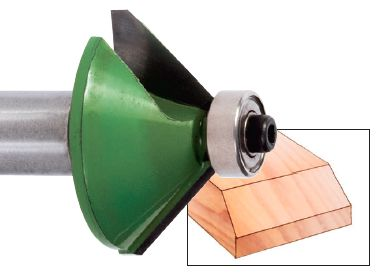Countertop Edge Router Bits : Must Have Router Bits: Chamfer Bits for Straight Edge Countertop Cuts ...