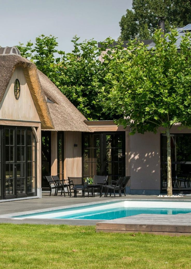 zwembad & poolhouse