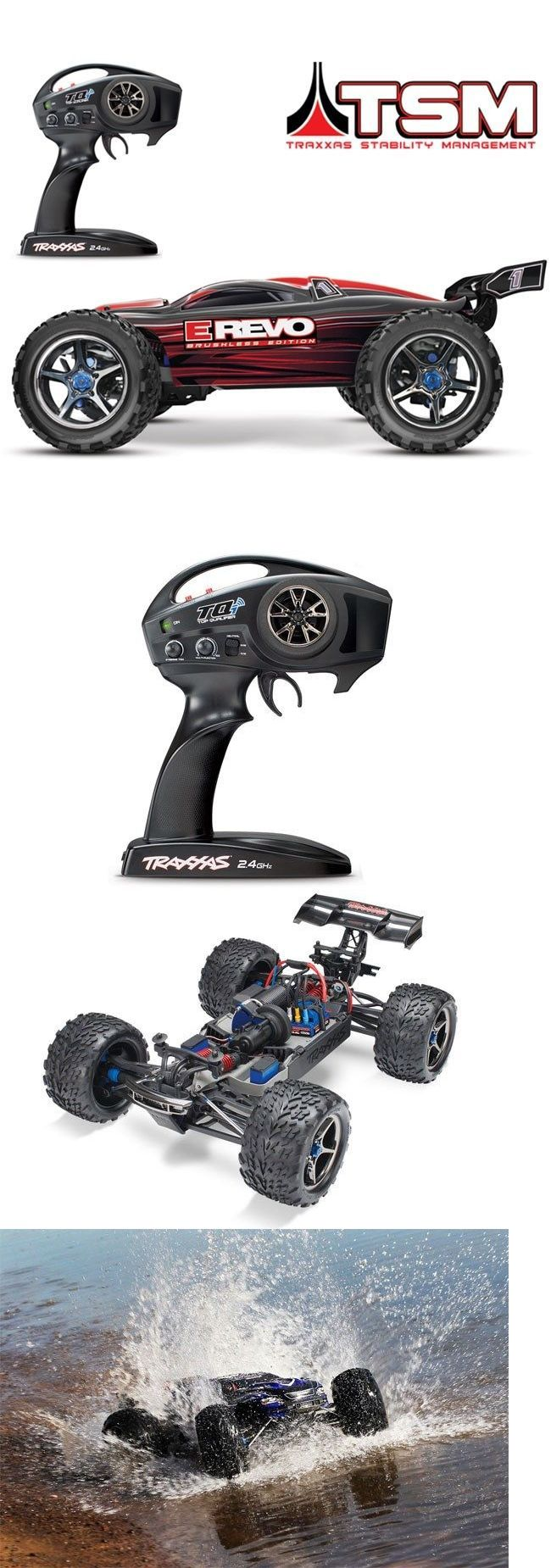 Cars trucks and motorcycles 182183 traxxas 56086 4 e revo brushless rtr rc