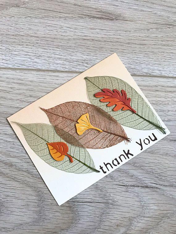 Thank You Card // Handmade Card
