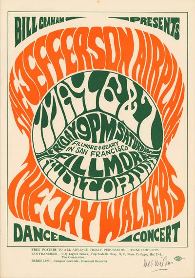 Concert at the Fillmore Auditorium (Jefferson Airplane; The Jay Walkers)
