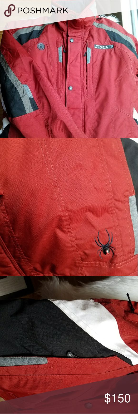 Men's Jacket Greatly used for cold weather.  Brand: Spyder  *very durable  *mint condition  *used for skiing or cold temperatures; very well insulated! The brand says it all for itself! Spyder Jackets & Coats Ski & Snowboard