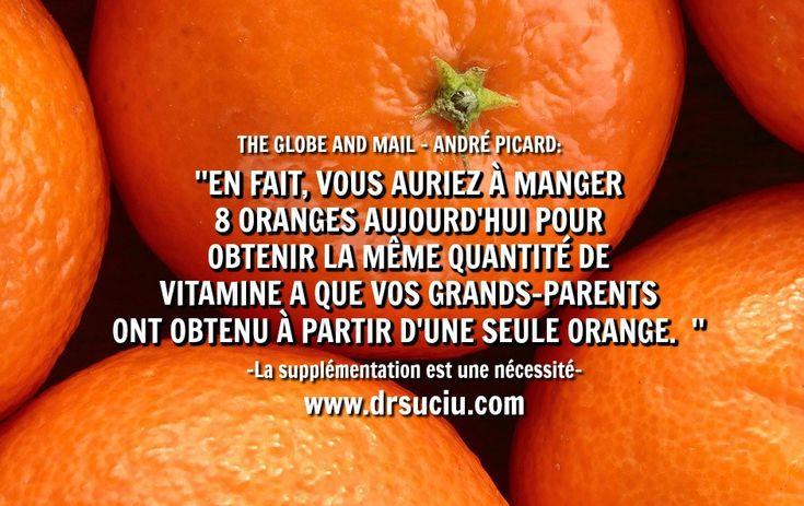 Photo La valeur nutritive des oranges aurait chuté - drsuciu