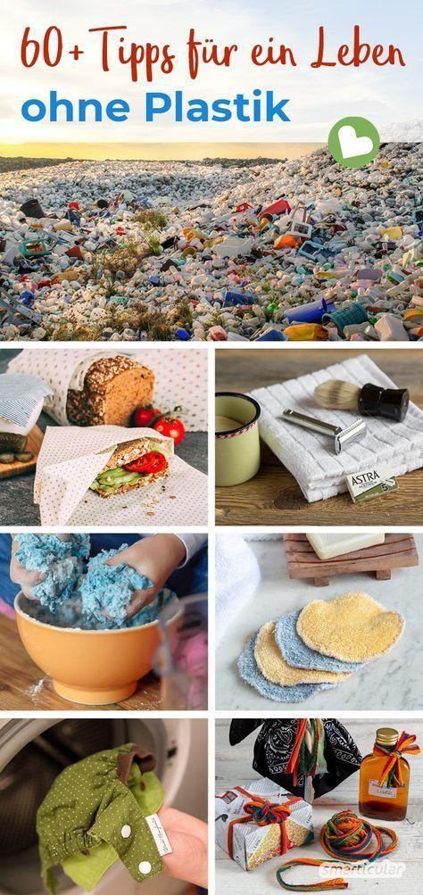 Plastik vermeiden im Alltag: 66 einfache Tipps