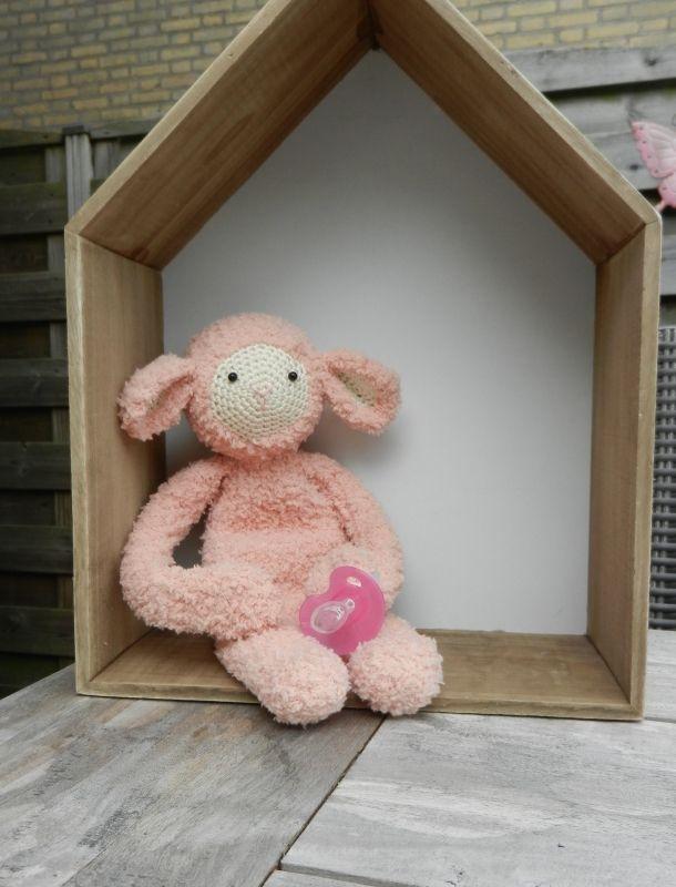 Speenknuffel schaap Fluffie