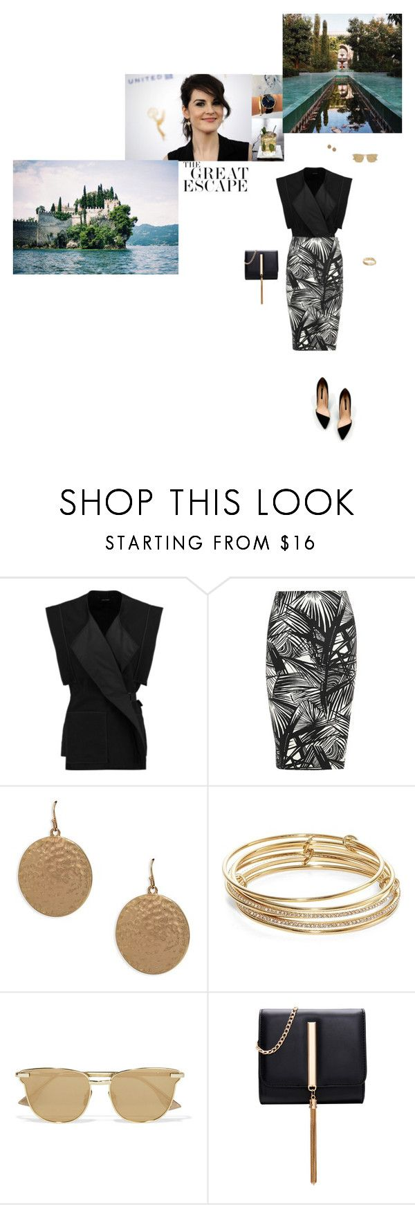 """""""I was living half a life before you met me."""" by class-in-the-corner-office ❤ liked on Polyvore featuring Isabel Marant, Elizabeth and James, Zara, Lauren Ralph Lauren, Kate Spade and Le Specs"""