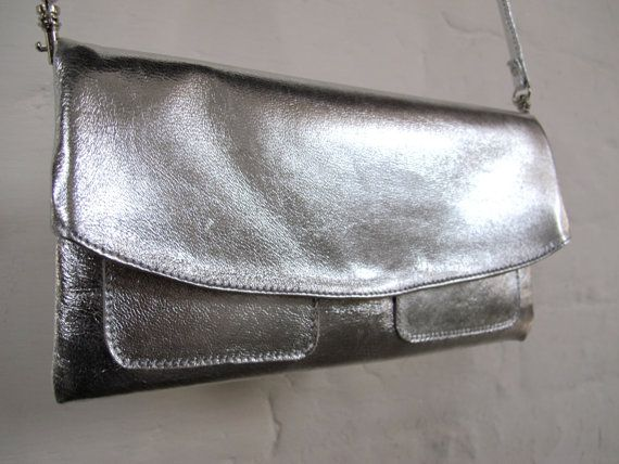 The Clutch Purse with wristlet and shoulder by TheButcherByrd