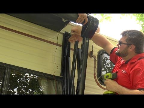 Replacing Your RV Patio Awning Part 3  This video is an overview of an RV awning installation on a class c motor home. Check out some amazing awnings. http://www.carefreeofcolorado.com/ http://www.rvfourseasons.com Colorado's 1st Choice RV Dealer in New and Used Travel Trailers for Sale!...