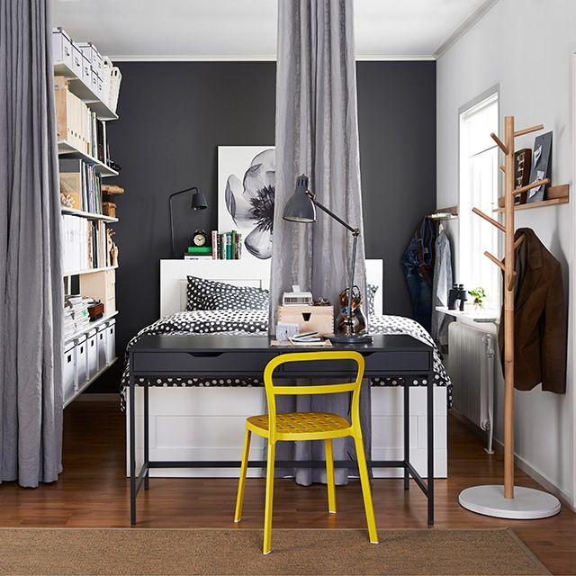 17 Best ideas about Brimnes on Pinterest Lit mural ikea, Parure de lit blanche and Ikea hacks bed