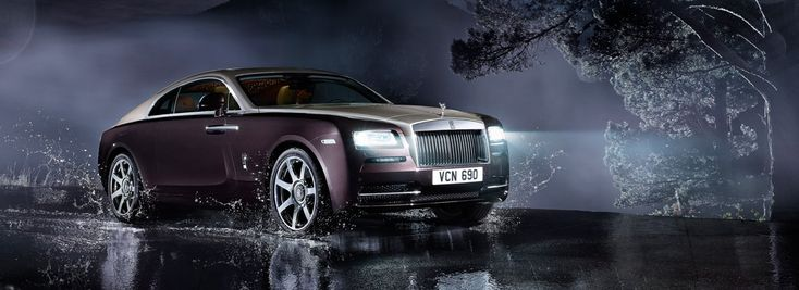 2013 Rolls-Royce Wraith.  WOW!  The most potent Rolls Royce in history.  6.6 liter, twin turbo charged V12 engine with 624 bhp.