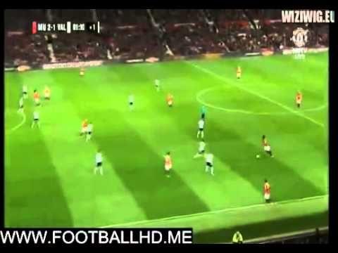 Marouane Fellaini Goal   Manchester United Vs Valencia 2 1   Reunited14 ...