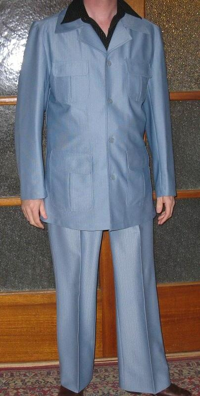 And The Infamous Powder Blue Polyester Leisure Suit Of The
