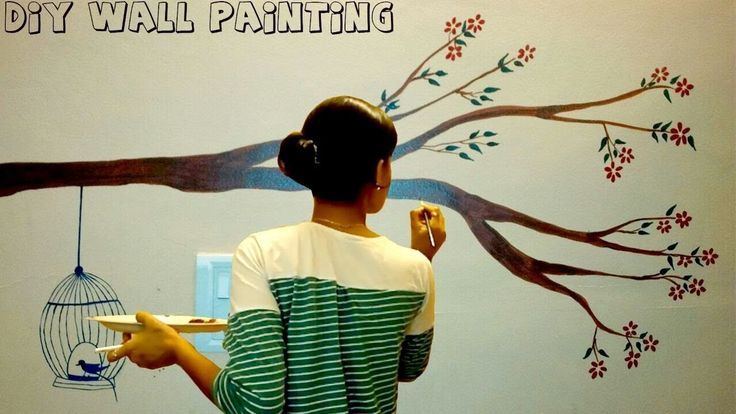 Best 25 tree wall painting ideas on pinterest tree - How to paint murals on bedroom walls ...