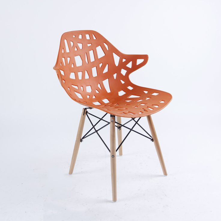Eiffel Inspired Dining Chair The Nest style Chair for Dinner, Study, Office, Living room by Mmilo®
