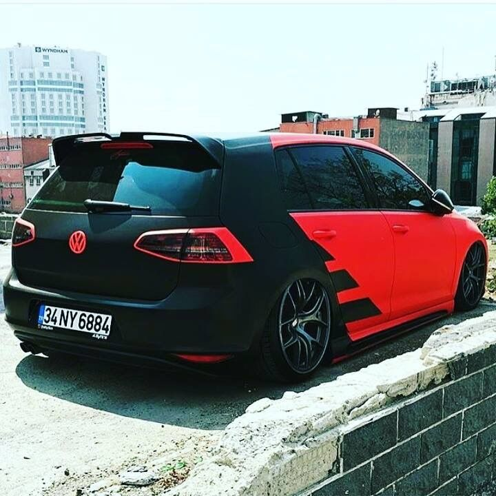 #Volkswagen #Golf #Mk7 #Slammed #Stance #Tucked