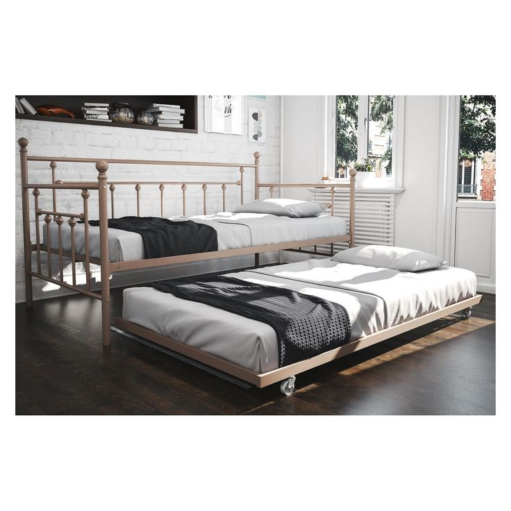 Manila Twin Daybed with Trundle Millennial Pink - Dorel Home Products - image 13 of 13