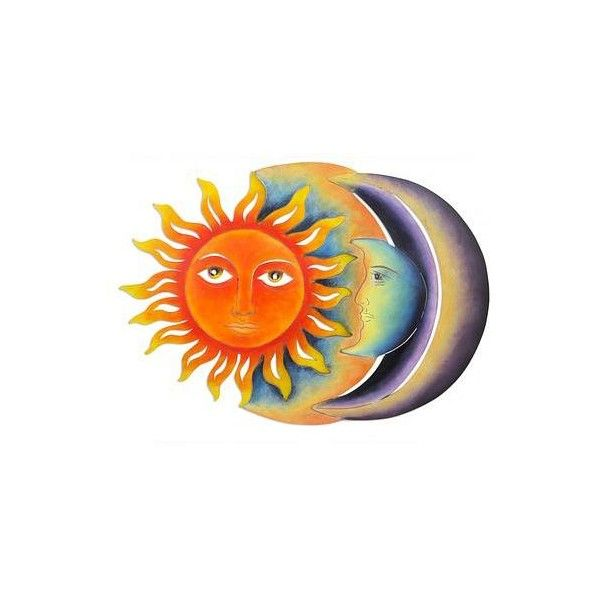 NOVICA Colorful Steel Sun and Moon Eclipse Wall Art Sculpture ($83) ❤ liked on Polyvore featuring home, home decor, purple, wall art, wall decor, steel sculpture, colorful home decor, mexican home decor, novica and purple home decor
