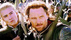 Legolas's facial expressions. (gif)