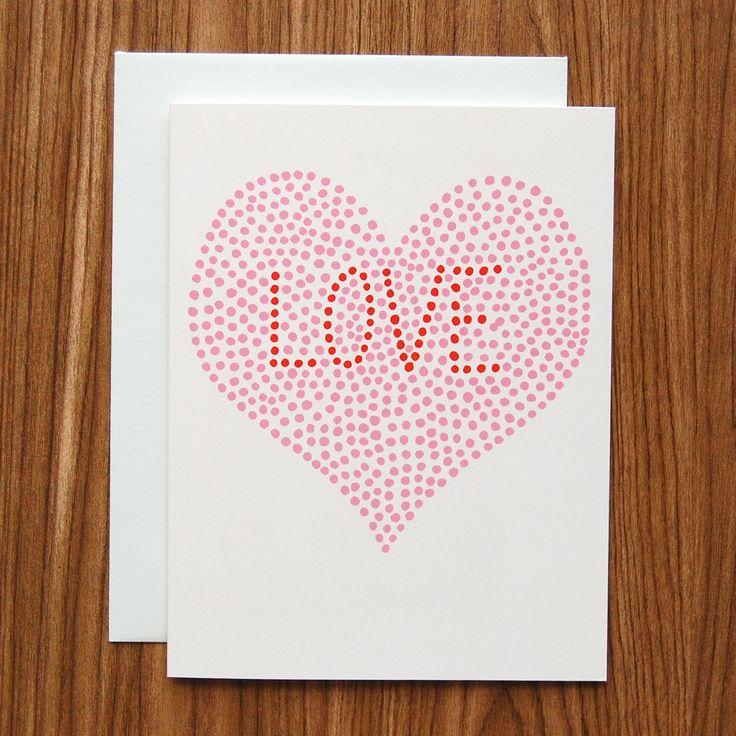 Love Heart Dots Card