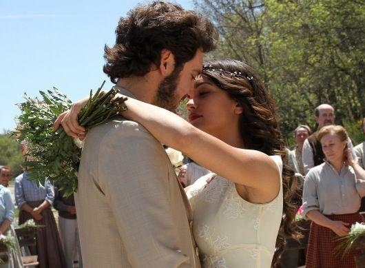 Il Segreto anticipazioni: le immagini del matrimonio di Pepa e Tristan [Foto] - Teleblog - teleblog