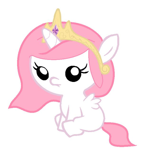 Baby+Princess+Celestia:+Version+2+by+Beavernator.deviantart.com+on+@deviantART